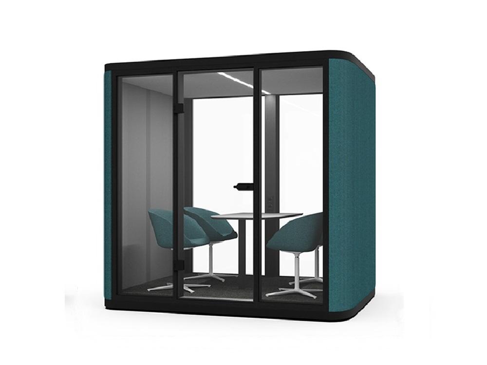 cabina-acustica-de 4 persoane ecell