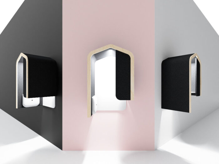 cabina telefonica perete