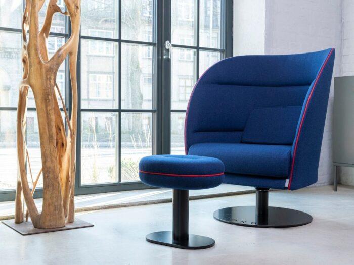 fotolu albastru office