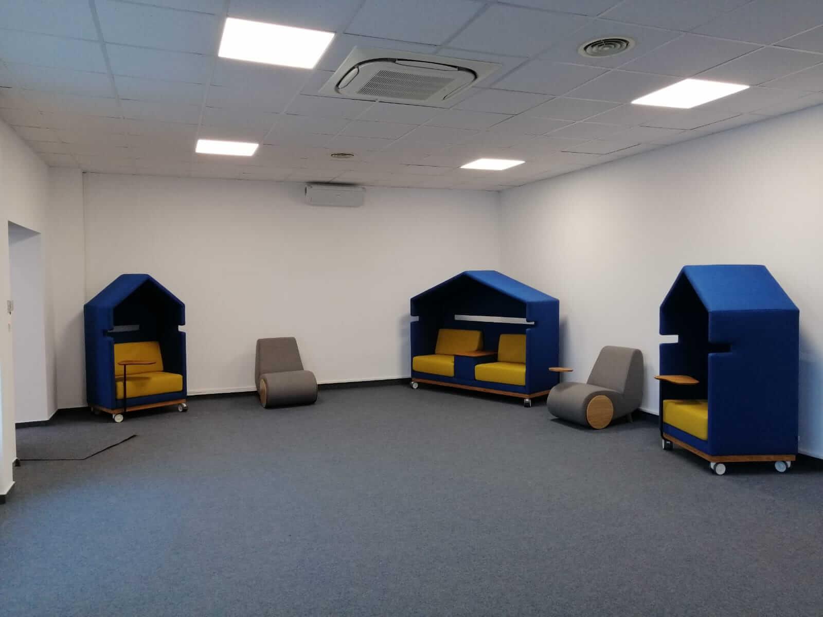 mobilier acustic birouri