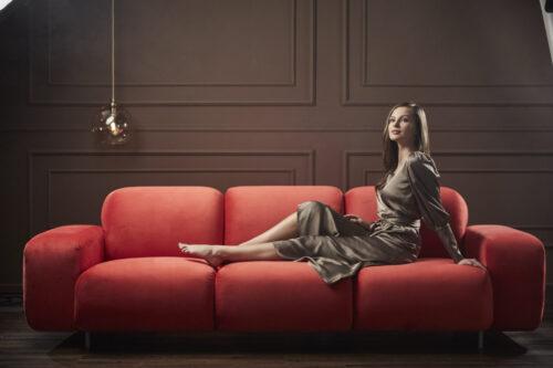 canapea confortabila de lux