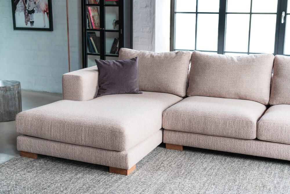 canapea cu living design nordic